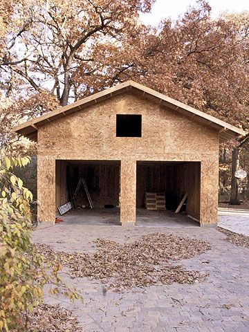 105 best images about garages on pinterest carport plans for Separate garage