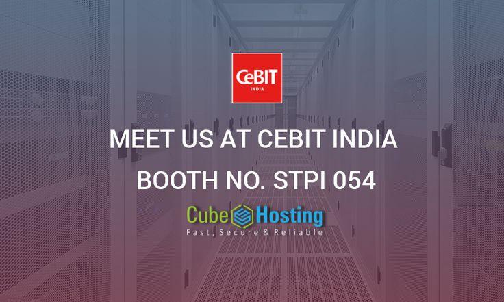 Meet Us At #CeBIT #India BOOTH NO. STPI 054 - https://goo.gl/6AHfUA