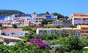 Monchique is a spa town 25 miles inland from Portimao