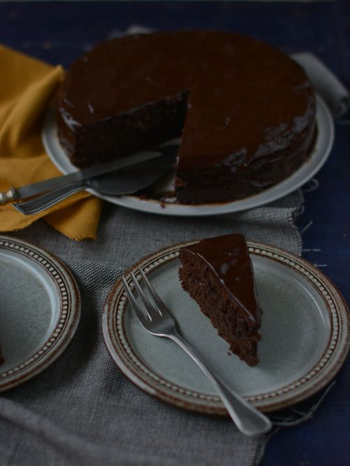 Gluten free Sacher cake