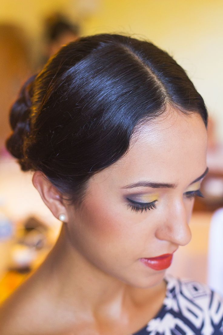 Makeup And Hairstyle By Madame Weddings Mexico Cancun