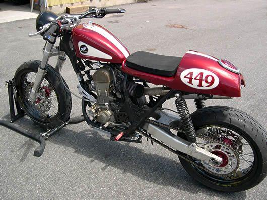 CB450R Cafe Racer Kits Convert Honda CRF450R Dirt Bike to Street Legal Cafe Racer