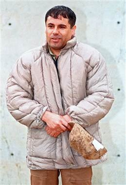 Drug lord Joaquin Guzman is seen in a June 10, 1993 file photo.