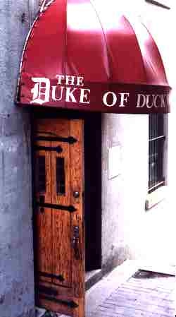 Duke of Duckworth Pub in Newfoundland-definately going for a pint there when we find out way to Nfld.