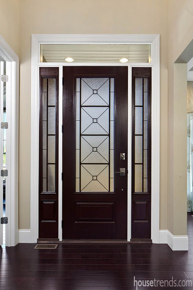 The front door of The Monaco by Infinity Homes at Cincinnati HOMEARAMA® 2016. # & 121 best Doors images on Pinterest | Front doors Cincinnati and Doors Pezcame.Com