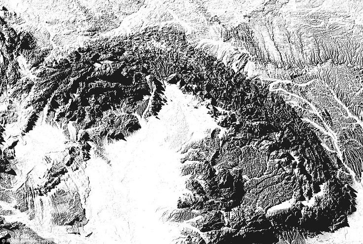 The Carpathian Mountains and Great Hungarian Plain (pictured) on the map can also be made ...