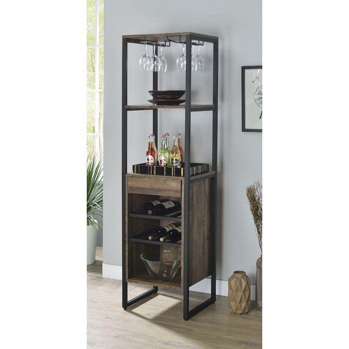 Benedict Bar With Wine Storage, Wayfair Dining Room Storage Cabinets
