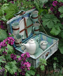 Perfect for outdoor tea party