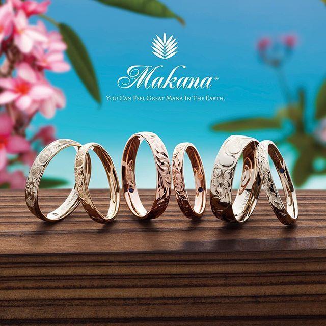 【makana_hawaiian】さんのInstagramをピンしています。 《K14バレルタイプ - ハワイアンジュエリーを結婚指輪の品質まで高めた日本初のブランドです。 - お二人にとって最大のメリットは彫り職人が一人なのでリングが同じ日に2本続けて彫ってもらえることです。彫りはもちろんハワイで。 - 全国52店舗にて取り扱いいただいております。 - #高級 #高品質 #プレミアム #ハワイ #ハワイアン #ハワイアンジュエリー #ブライダル #結婚指輪 #婚約指輪 #マリッジリング #エンゲージリング #全国 #宝飾店 #ブライダル専門店 #セレクトショップ #マカナ #makana #海 #夏 #ビーチ #リゾート》