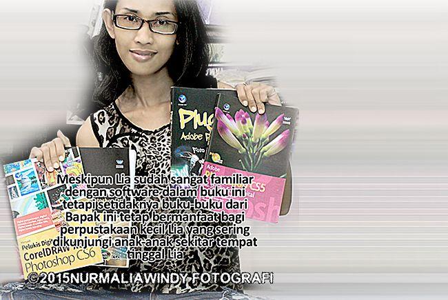 Nurmalia Windy - Fotografer Purwokerto | Windygraphy | Fotografer Wedding | Fotografer Prewedding: Terima Kasih Kiriman Buku-bukunya Bapak