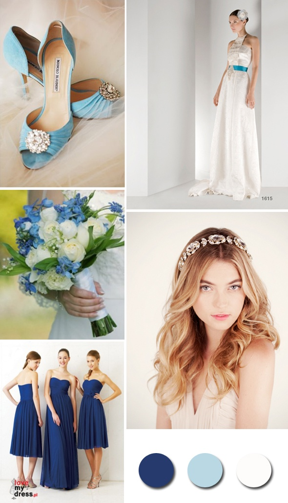 Paleta barw: niebieski