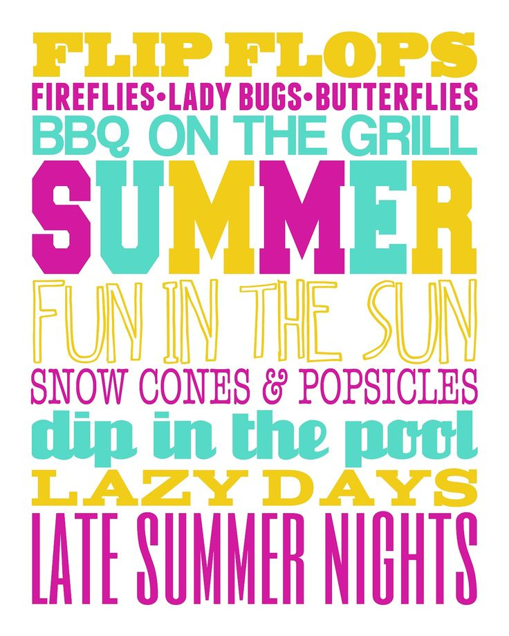 image regarding Subway Art Printable named Gloriously Intended: 6 Totally free Summer time Subway Artwork Printables