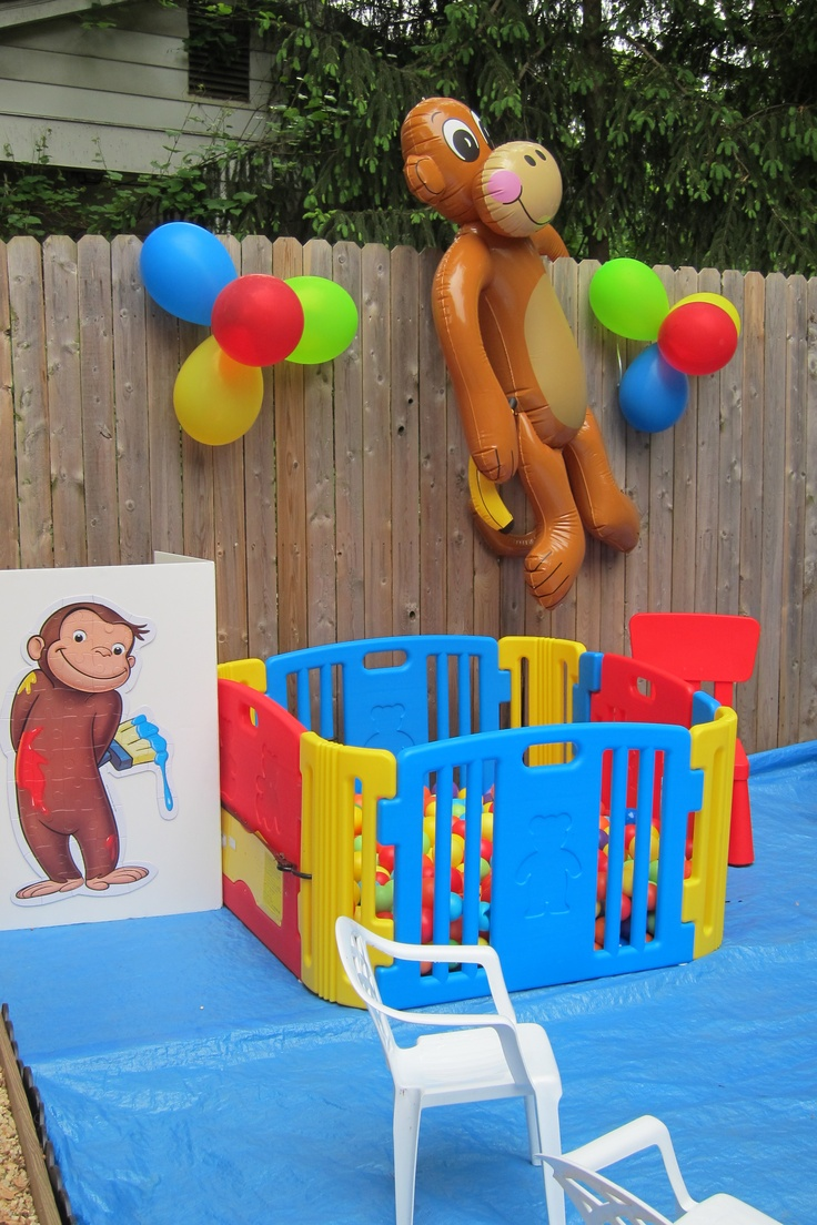 15 best curious george 1st birthday party images on pinterest