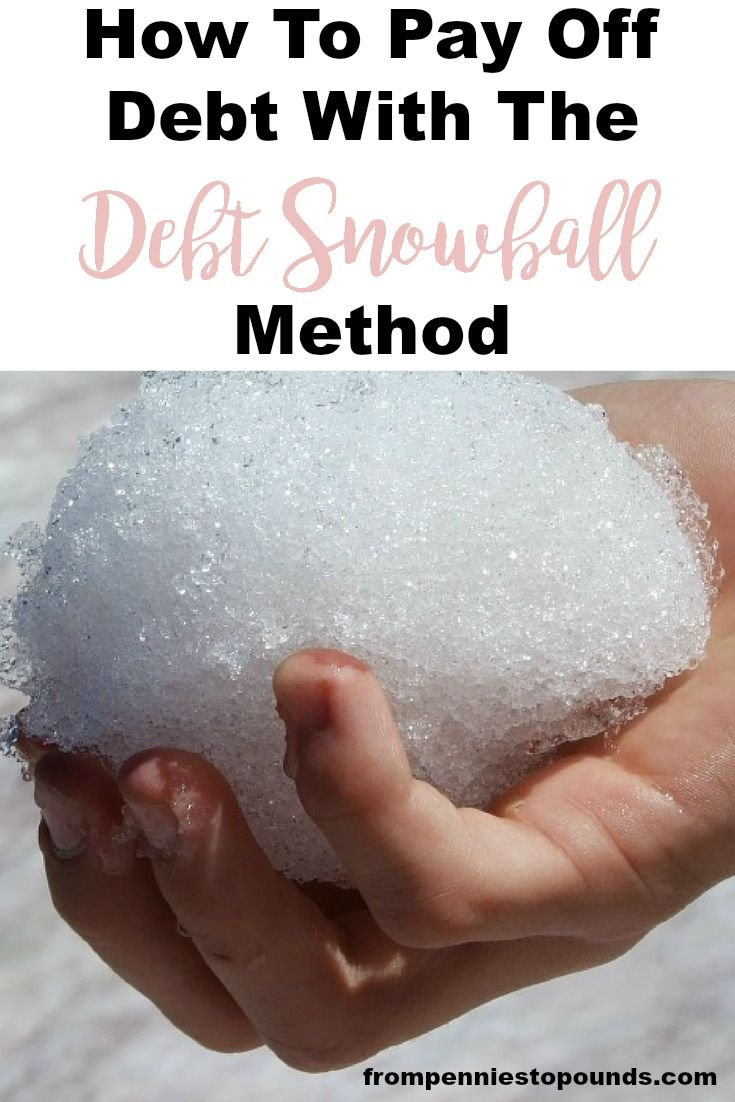 How to pay off debt with the debt snowball method. Could this be the best tip to pay off your debt and stay on track? Read more here: http://www.frompenniestopounds.com/pay-off-debt-debt-snowball-method/