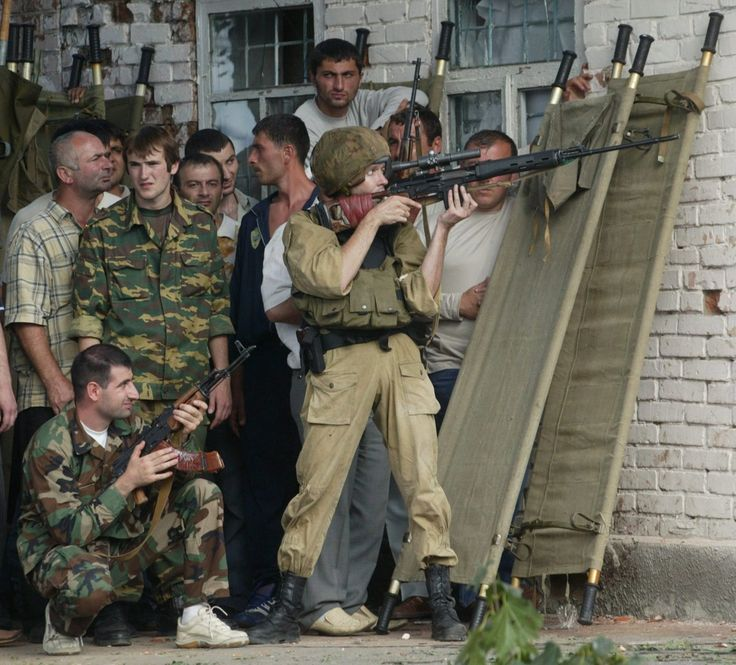 School Shooting Europe: Beslan Hostage Crisis : The Russian Forces At The Beslan