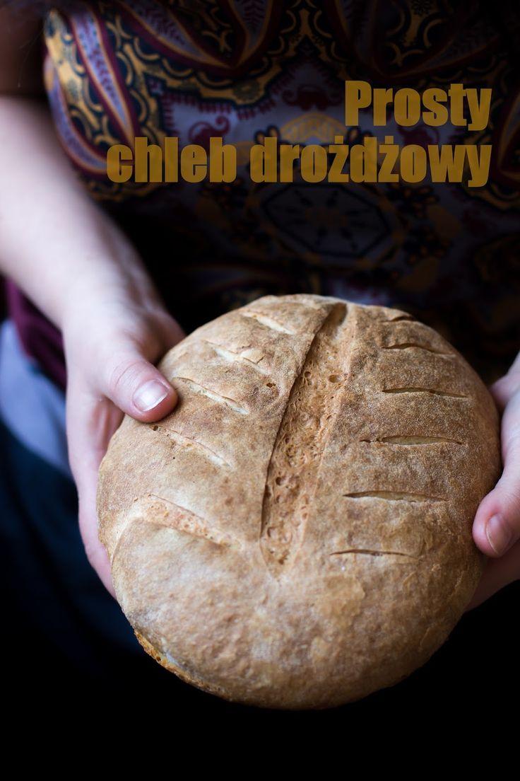 Chleb drożdżowy (bardzo prosty)