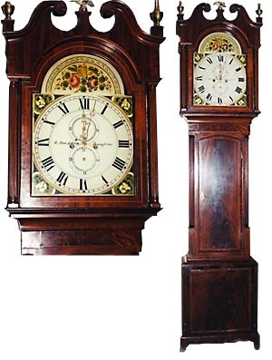 Images About Clocks On Pinterest Folk Art Pennsylvania And Antiques