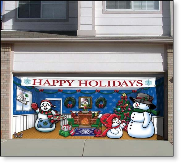 13 Best Seasonal Garage Door Decor Images On Pinterest