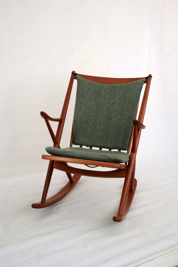 Rocking Chair By Frank Reenskaug For Bramin Photo Gallery