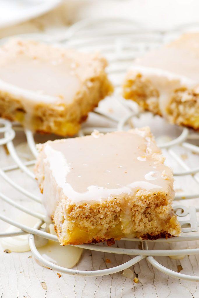 Пирог «Яблочный оладь» — Кулинарный Блог