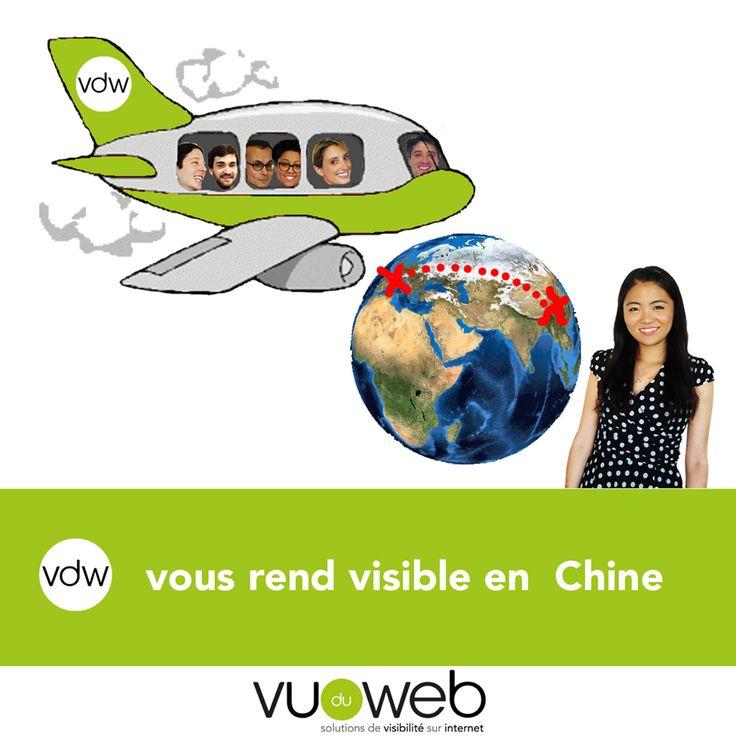 Quand Vu du Web vous ouvre à l'international!