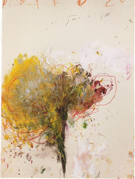 Cy Twombly.                                                                                                                                                                                 Plus