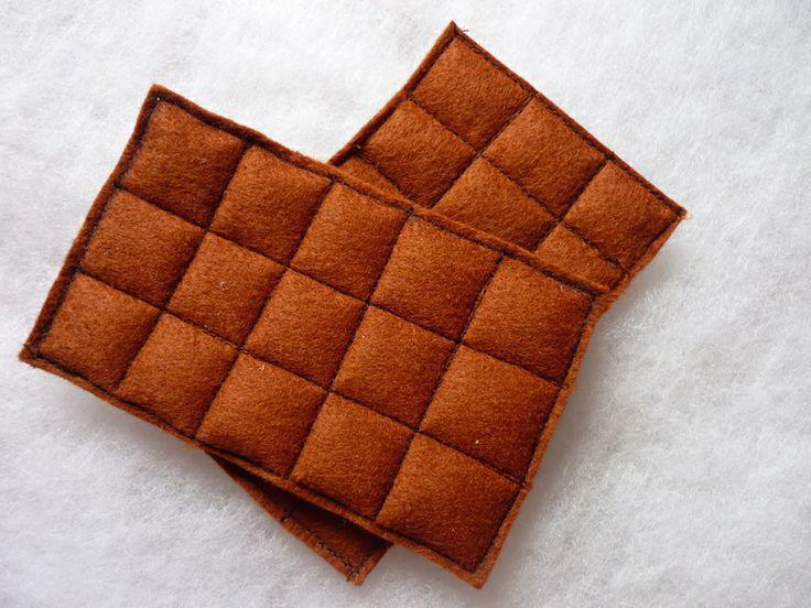 Schokolade für Kinderküche, Kaufmannsladen