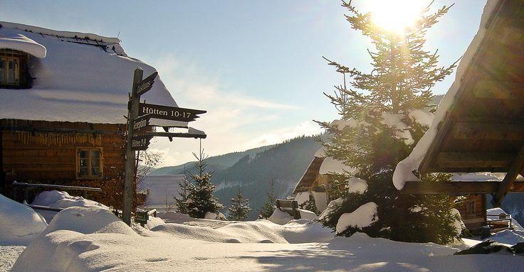 Nice cottages and good food: Almdorf Seinerzeit, Kärnten, Austria