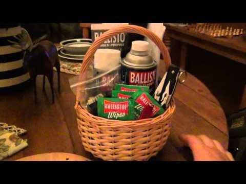 How To : Make A Gun Lover's Gift Basket...