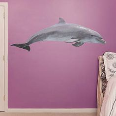 Dolphin Fathead for Under Sea theme room