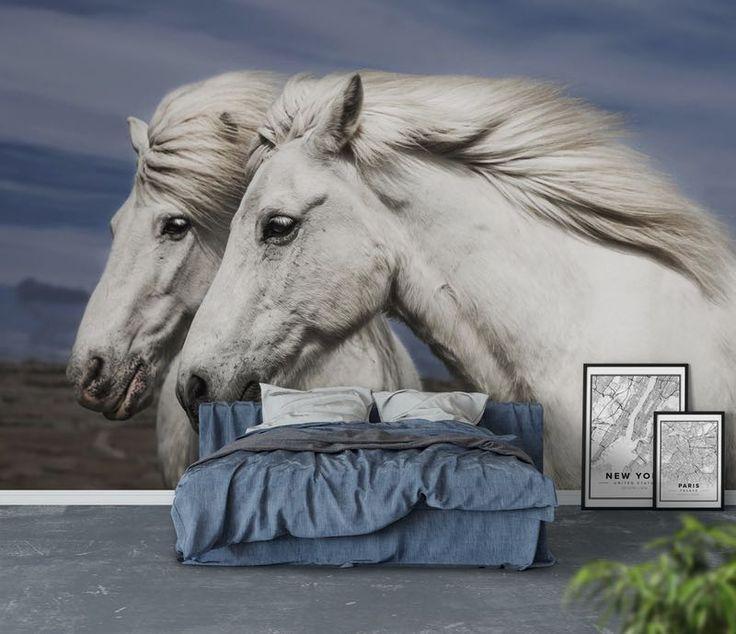 Island horses Tapet