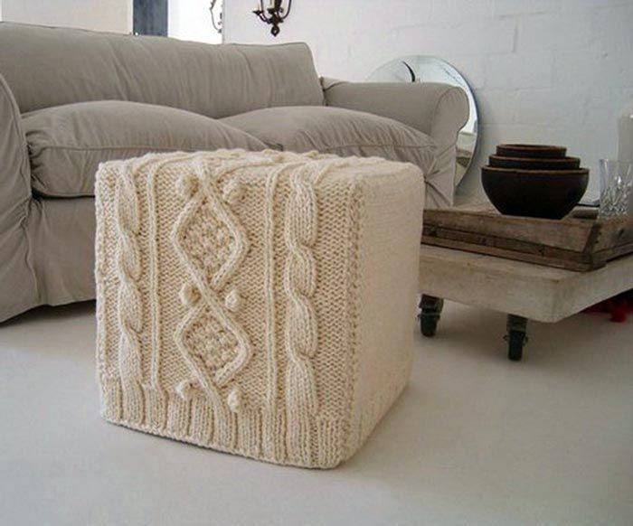 7 besten kissen stricken bilder auf pinterest kissen stricken stricken h keln und gestrickte. Black Bedroom Furniture Sets. Home Design Ideas