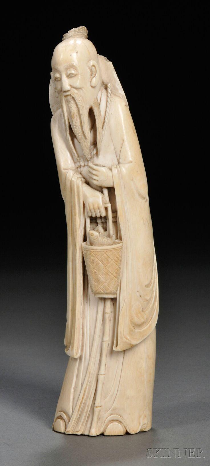Best antique ivory bone carving images on pinterest