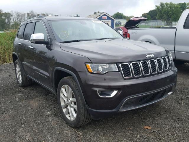 Salvage 2017 Jeep Grand Cherokee Limited Jeep Grand Cherokee Limited 2017 Jeep Grand Cherokee Salvage
