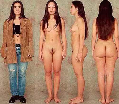 Female body nude comparison akira gomi — pic 8