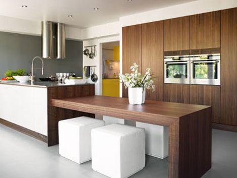 kjøkkenøy med spisebord - Google-søk