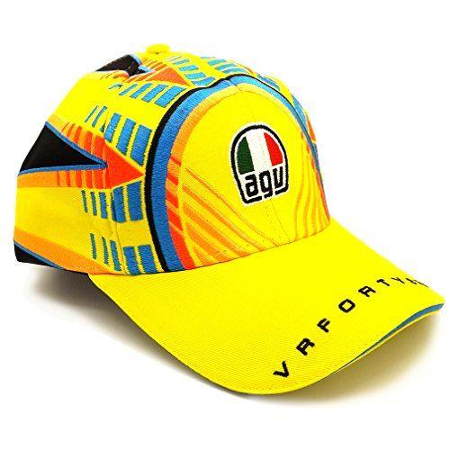 Valentino Rossi AGV Corsa Soleluna Helmet Cap VR46 Official 2015