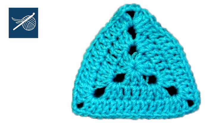 Solid Crochet Triangle Motif - Crochet Geek Quilting, Sewing ...