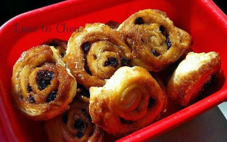 Love to Cheu: Cinnamon Danish Scrolls