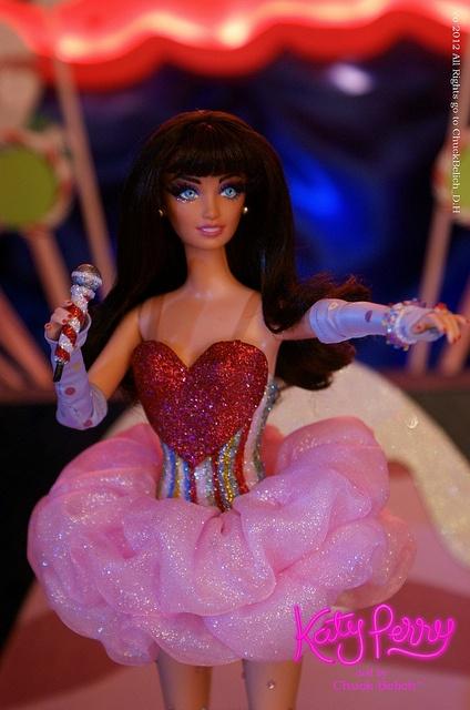 Katy Perry California Dreams tour OOAK doll