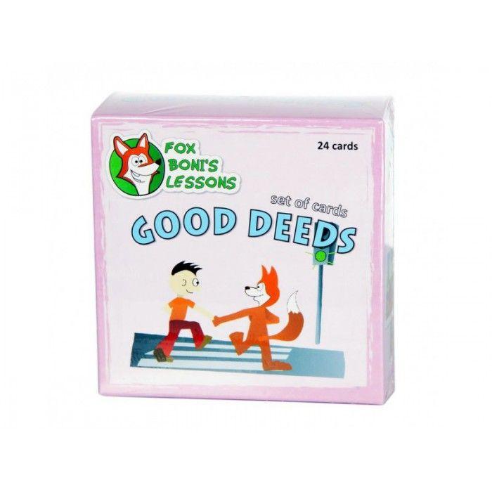 Karty Dobre Zachowanie - Lekcje Liska Boni // Good Deeds - Fox Boni's Lessons