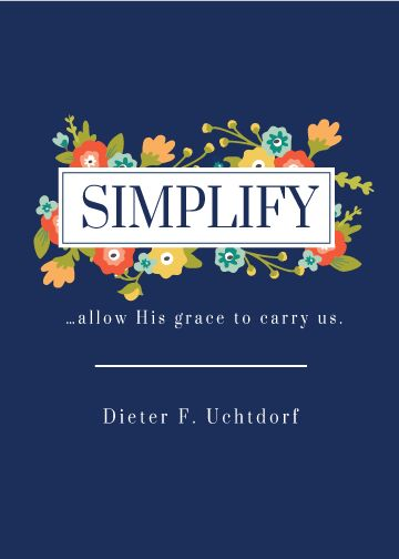 General Conference 2015 FREE Printable Quotes - I don't EVER want to forget this talk from Elder Uchtdorf! This one was for me!