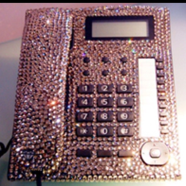 Blinged Out Officephone