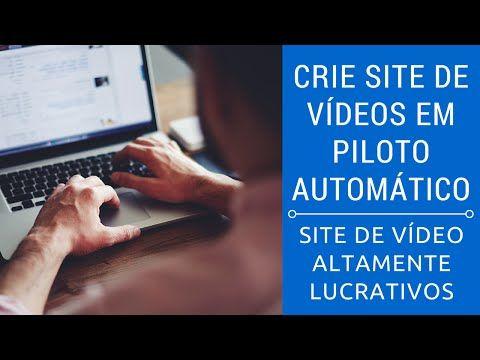 Crie Site de Videos em Piloto Automático - Review | Curso Cria Site - YouTube