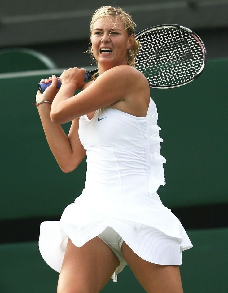 Tennis girl nude hot