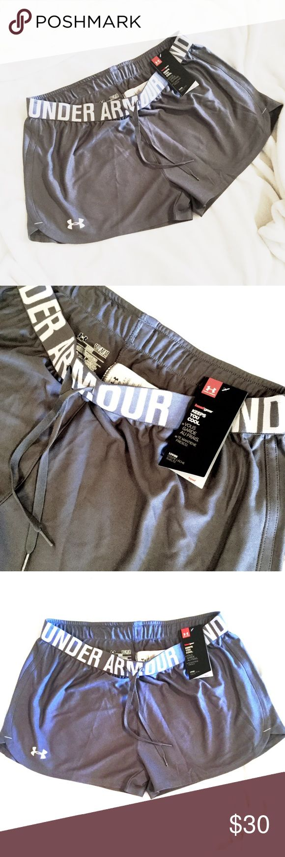 NWT Under Armour Gray Shorts NWT Under Armour Gray Shorts. Sz. M Under Armour Shorts