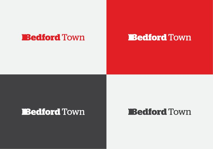 Bedford Town — A Town With History on Behance