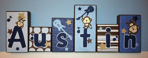 Best 25+ Letter Blocks Ideas On Pinterest