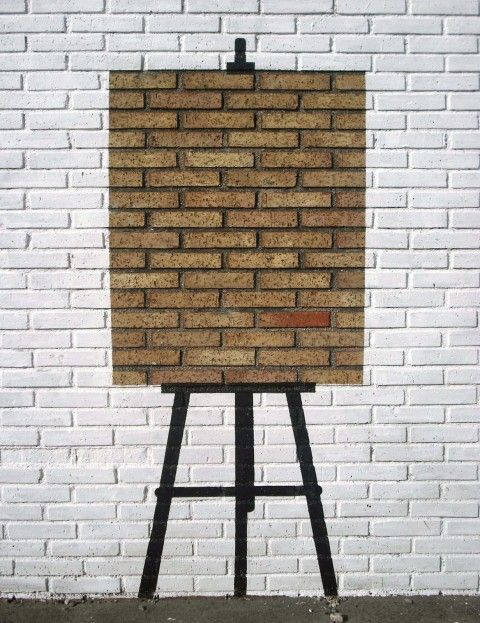 Pejac @ Santander, Spain, Wall is a Canvas...