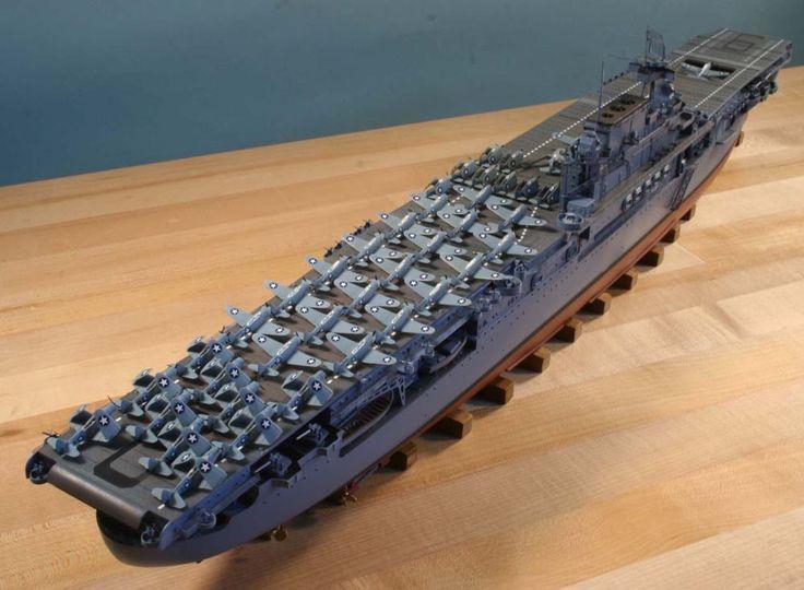 1/350 USS Enterprise CV-6 (Trumpeter)